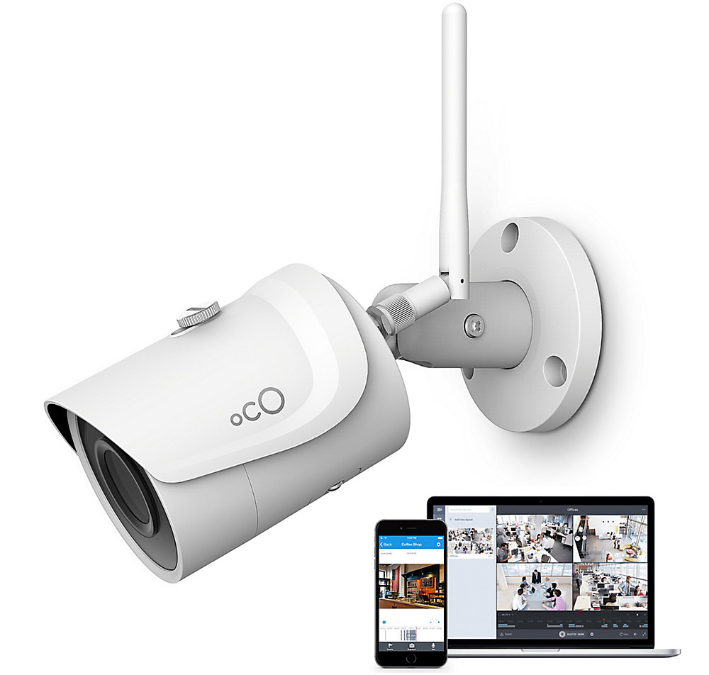 Pro Bullet 1080p HD Outdoor/Indoor Cloud Surveillance and Security Camera  with SD Card / Cloud Storage