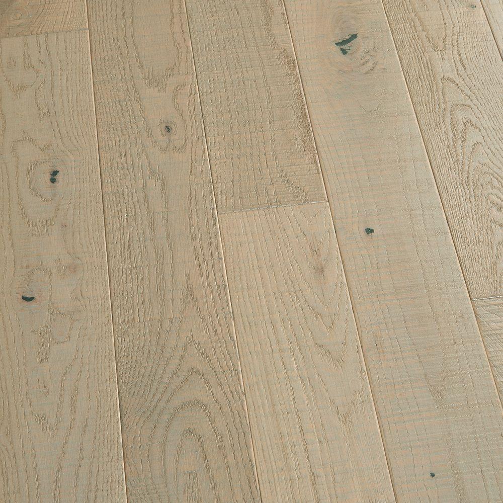 Malibu Wide Plank French Oak Pebble Beach 3/4-inch X 5