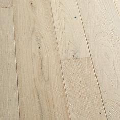 Plancher encliquet., bois d'ingén., 3/8po x 4 po et 6po x longeurs variées, Chêne français Seacliff, 19,84pi2/boîte