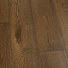 French Oak Stinson 3/8-inch x 6 1/2-inch x Varying Length Click Hardwood Flooring (23.64 sq. ft./case)