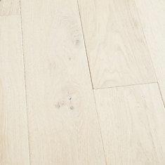 Plancher, bois d'ingénierie, 0,5po x 5 po et 7po x longeurs variées, Chêne français Rincon, 24,93pi2/boîte