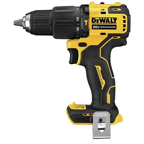 DEWALT ATOMIC 20V MAX Brushless Cordless Compact Hammer Drill (Tool-Only)