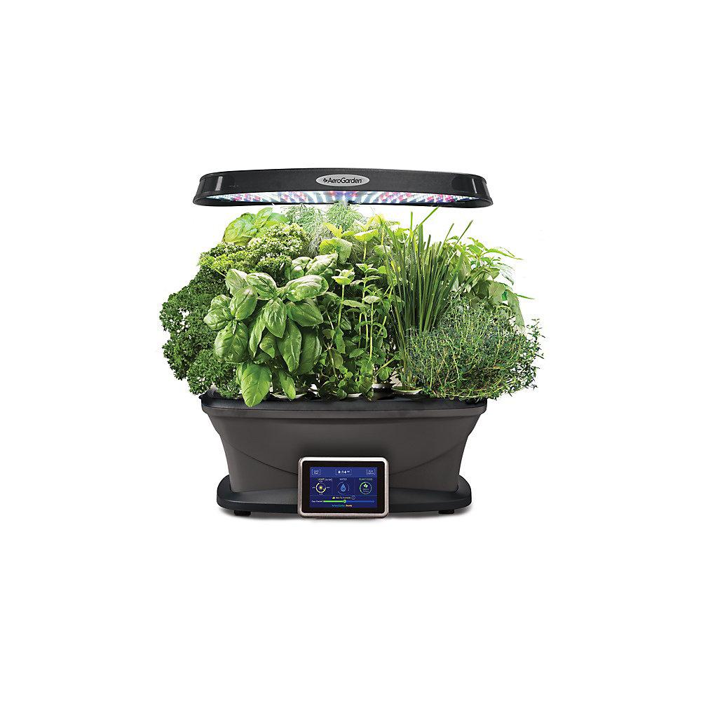 Aerogarden Pods Home Depot: AeroGarden Bounty With Gourmet Herb Seed Kit