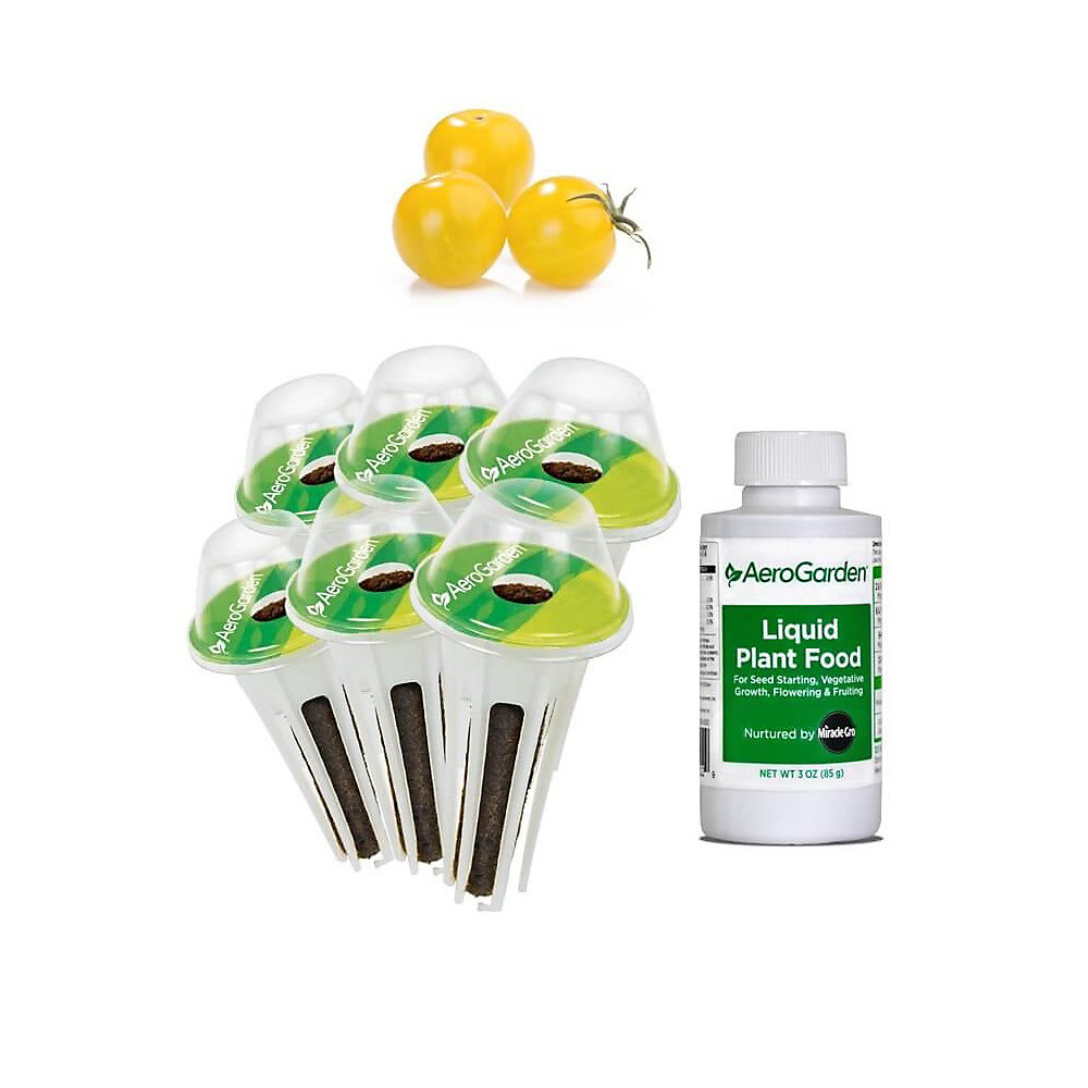 Aerogarden Pods Home Depot: AeroGarden 6-Pod, Cherry Tomato Seed Kit