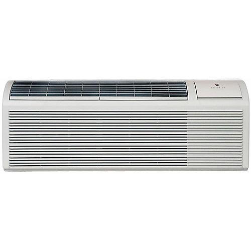 Packaged Terminal Air Conditioner, 12k BTU, Heat & Cool, 230 Volt