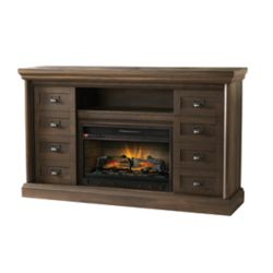 Home Decorators Collection Calverley 60 inch Media Console Electric Fireplace