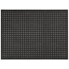 Multy Home Contours Dots 3 ft. x 4 ft. Indoor/Outdoor Rectangular Needlepunch Door Mat