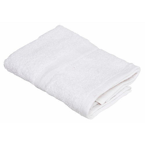 Oxford silver collection hand towel, 16 x 27 in., white, (240 per case)
