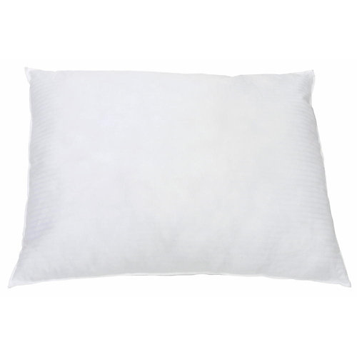Standard 20 in. X 26 in. 22 oz. Hollow siliconized fibre fill pillow white (12-case)