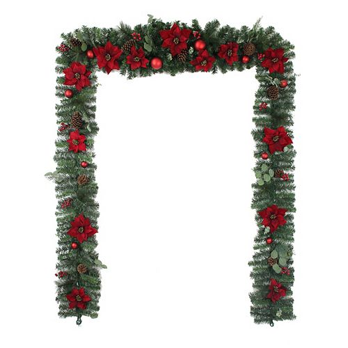 Home Accents Holiday 17 ft. Berry Bliss Garland