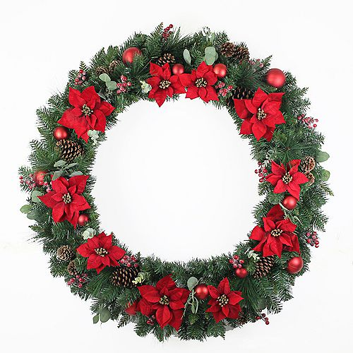 Home Accents 48 inch Berry Bliss Wreath