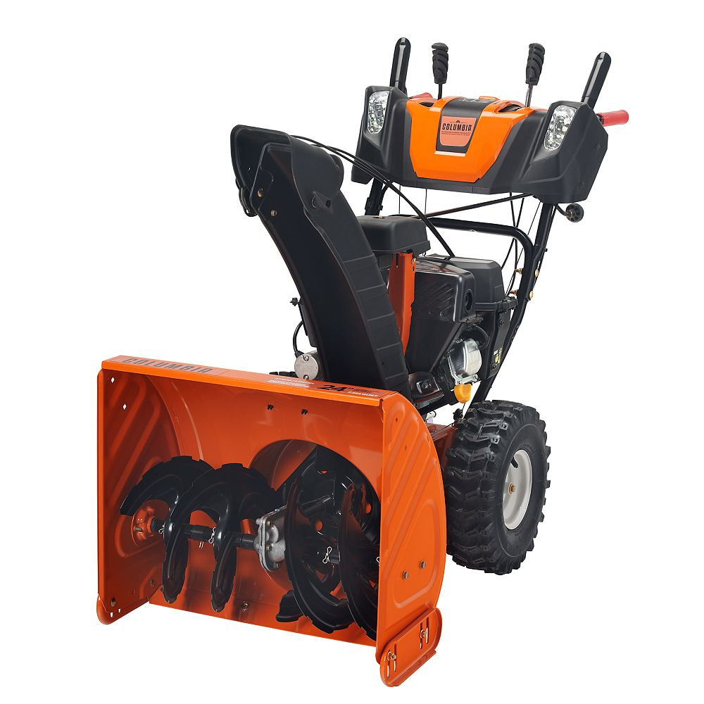 Columbia 24-inch 208cc Two-Stage Snowblower