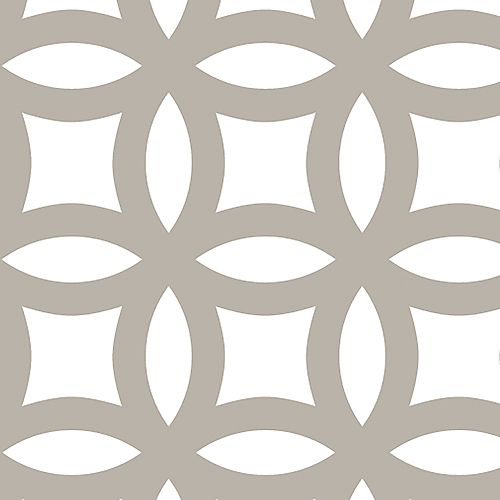 M-D Building Products 1 ft. X 2 ft.  Aluminium Sheet Mosaic Satin Nickel