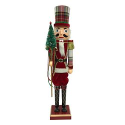 Home Accents Holiday Casse-noisette Rouge de 60,9 cm