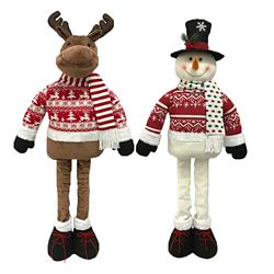 Home Accents Holiday 3 ft. Adjustable Holiday Character Christmas Decoration