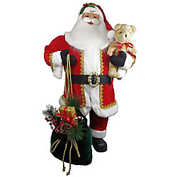 Home Accents Holiday 3 ft. Santa Christmas Decoration