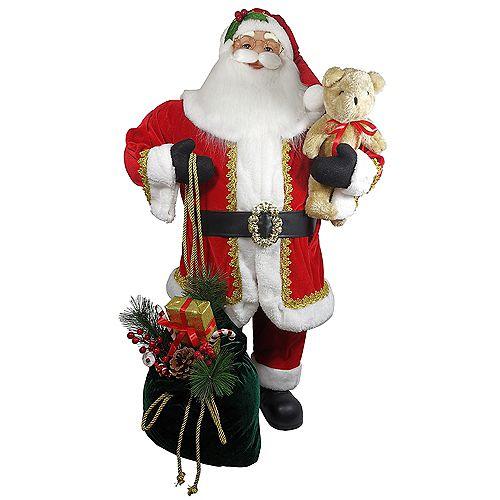 Home Accents 3 ft. Santa Christmas Decoration