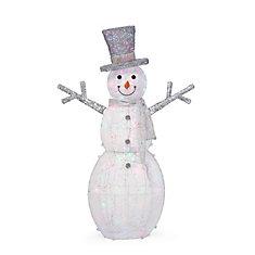 5 ft. LED Snowman