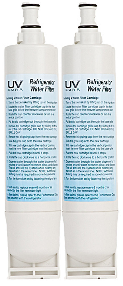 Refrigerator Water Replacement Filter 2 Pack Whirlpool