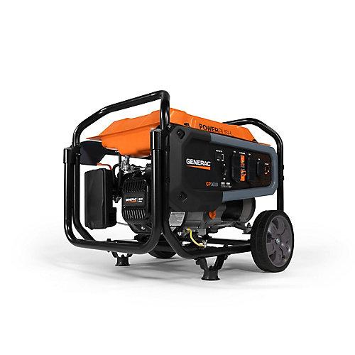 Génératrice portative GP3600 avec chariot, 3600W
