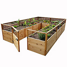 8 ft. X 12 ft.  Raised Garden Bed