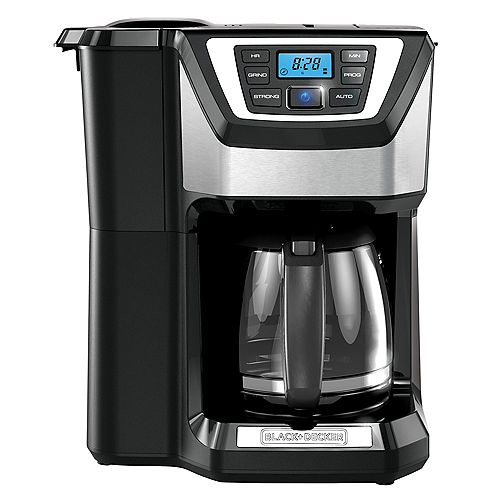 BLACK+DECKER 12 Cup Grind And Brew Coffee Maker