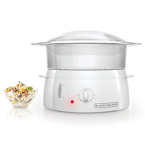 BLACK+DECKER 1 Tier Food Steamer