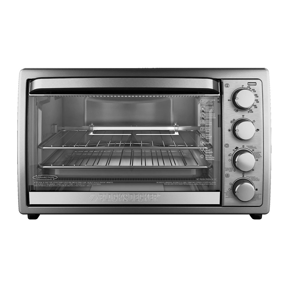Black Decker 12 In Convection Toaster Oven The Home