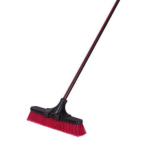 Garant 18-inch Clip'N Lock Multi-Surface Push Broom