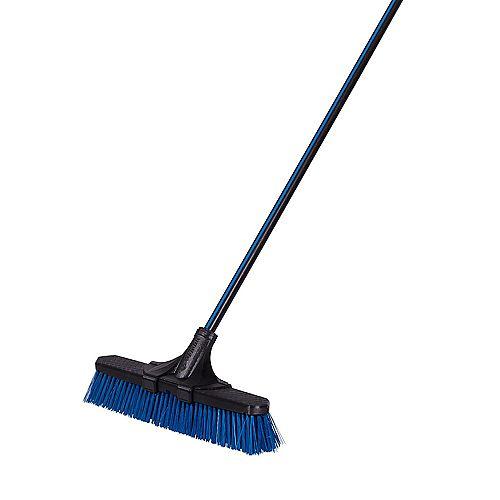 Garant 18-inch Clip'N Lock Rough Surface Push Broom