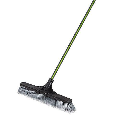 Garant 24-inch Clip'N Lock Smooth Surface Push Broom