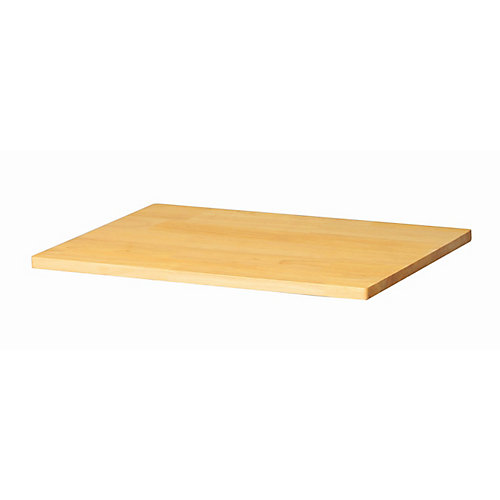 0.8-inch x 24-inch x 16-inch Solid Wood Top for Welded 24-inch Base Cabinets