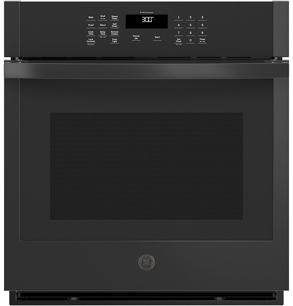 27-inch Built-In Single Wall Oven- Black
