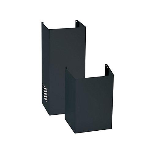 9ft. Ceiling Duct Cover Kit- Black Slate