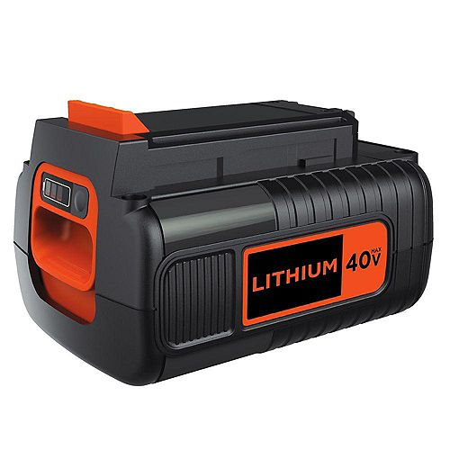 BLACK+DECKER 40V MAX Lithium-Ion Battery Pack 2.0Ah