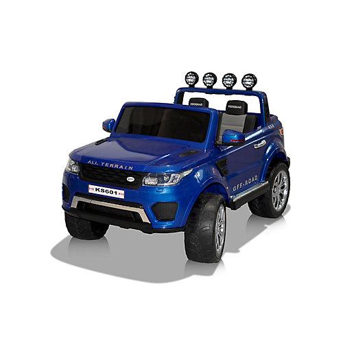 Camion Hercules porteur de 24V - Bleu