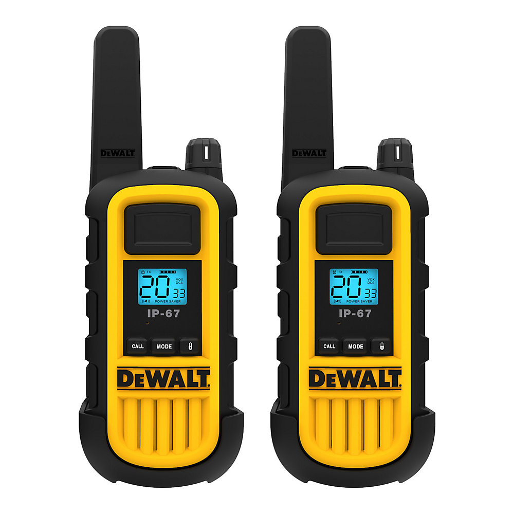 300,000 Sq  ft  FRS/GMRS Heavy Duty 2 Watt Two-Way Radio Set - Two Pack