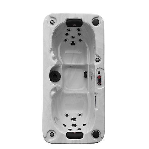 Yukon Plug & Play 2-Person 16-Jet Hot Tub with LED Lighting and Bluetooth Audio
