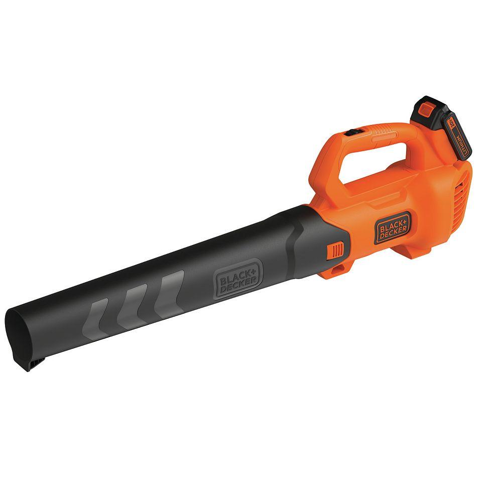BLACK+DECKER 20V MAX Blower w/ (1) 2.0 Ah Battery