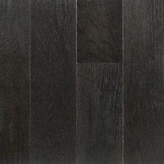 Revêtement de sol, 0.28 po x 5 po x longueurs var., 16.68 pi2/caisse, fini imperméable, bois franc, Pionnier