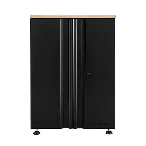 Heavy Duty Welded 28-inch W x 36-inch H x 21.5-inch D Steel 2-Door Base Garage Cabinet