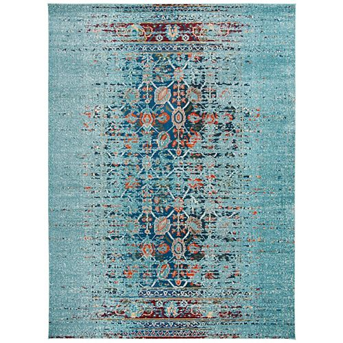 Safavieh Monaco Flynn Blue / Multi 8 ft. X 10 ft. Area Rug