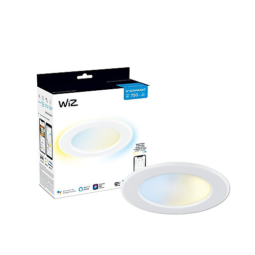 WiZ 65W 6-inch Tunable White LED Smart Home Wi-Fi Downlight
