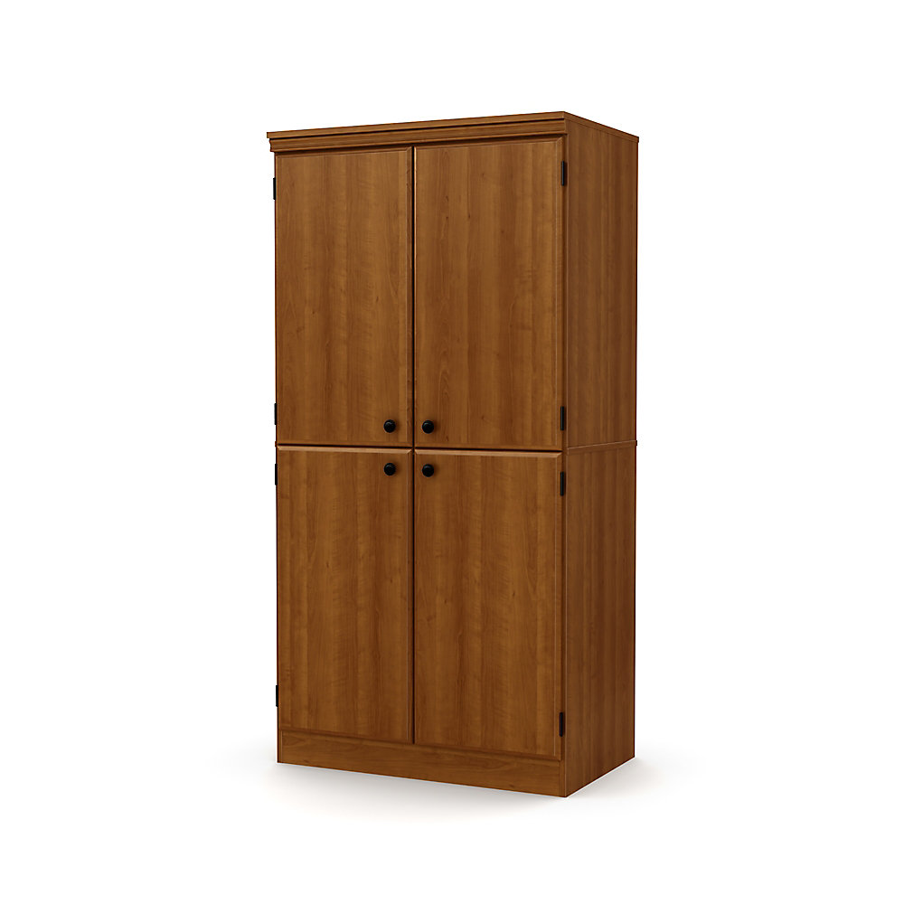 Morgan 4-Door Storage Cabinet, Morgan Cherry