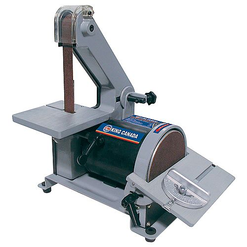 King Canada 1 inch X 30 inch Belt Disc Sander
