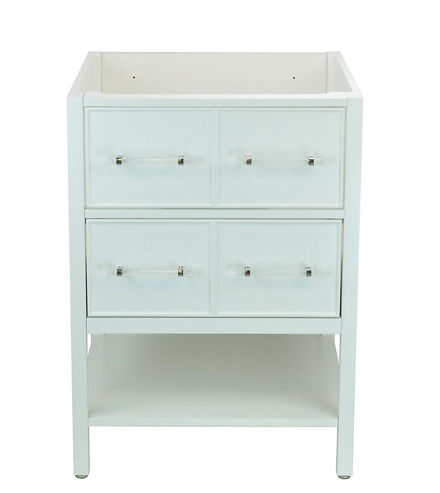 Bold Gemma 24 inch Vanity Cabinet in White