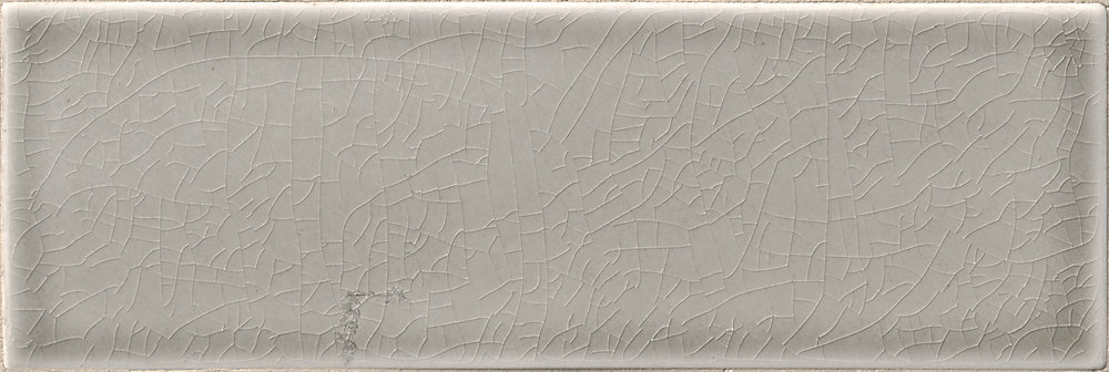 Dove Gray 4-inch x 12-inch Handcrafted Glazed Ceramic Wall Tile (5 sq. ft. / case)