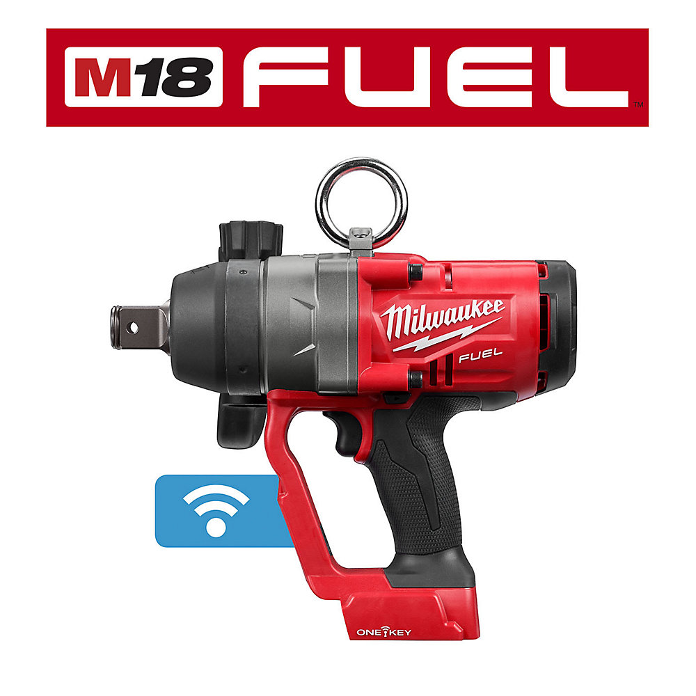 M18 FUEL 18V 1-Inch High Torque Impact Wrench w/ ONE-KEY (Tool Only)
