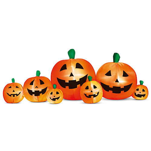 Halloween 8 ft. Inflatable Pumpkin Patch