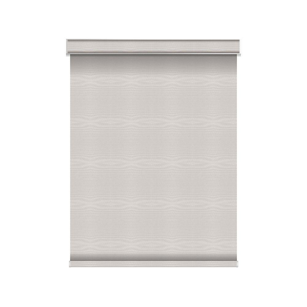 Tissue Opaque Toiles à Rouleau - sans Chaîne avec Cantonnière  - 54.5-po X 84-po